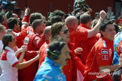 Celebrations in Parc fermé