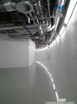McLaren Technology Centre interior, level -1