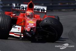 Unfall: Michael Schumacher, Ferrari