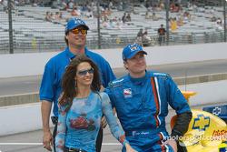 Kara Lazier, Owen Snyder et Buddy Lazier