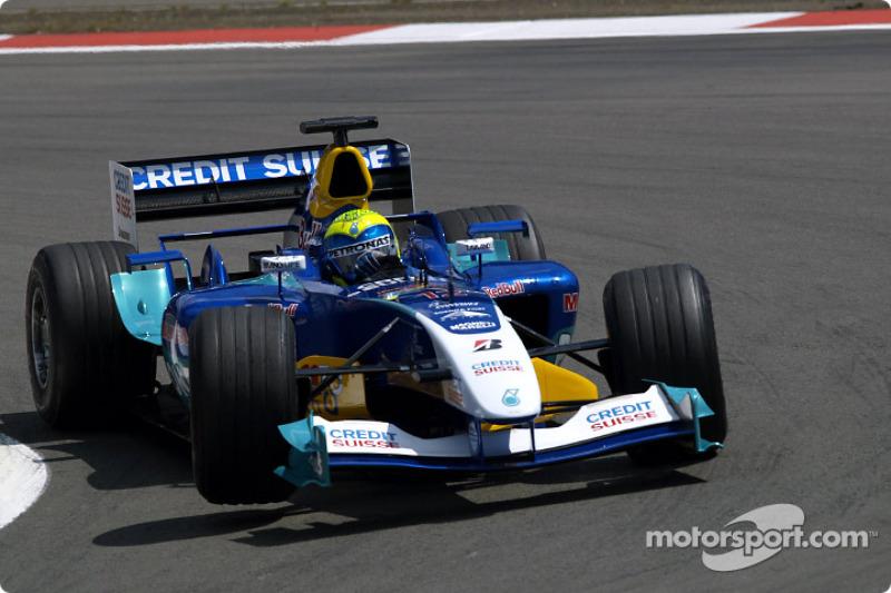2004: Sauber C23 - 12 puan, şampiyonayı 12. sırada bitirdi