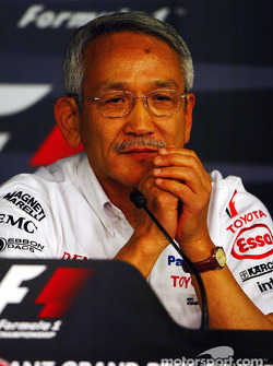 Friday press conference: Tsutomu Tomita