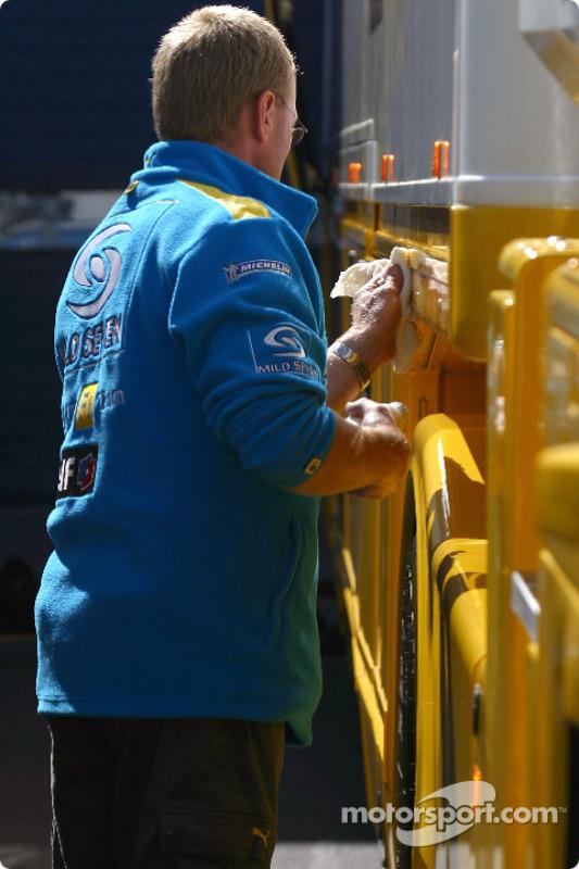 Membre de Renault F1 Team