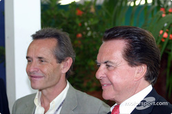 Jacky Ickx and Reinhold Joest