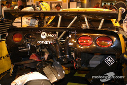 #63 Corvette's rear clip gets disassembled