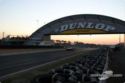 A quiet morning in Le Mans