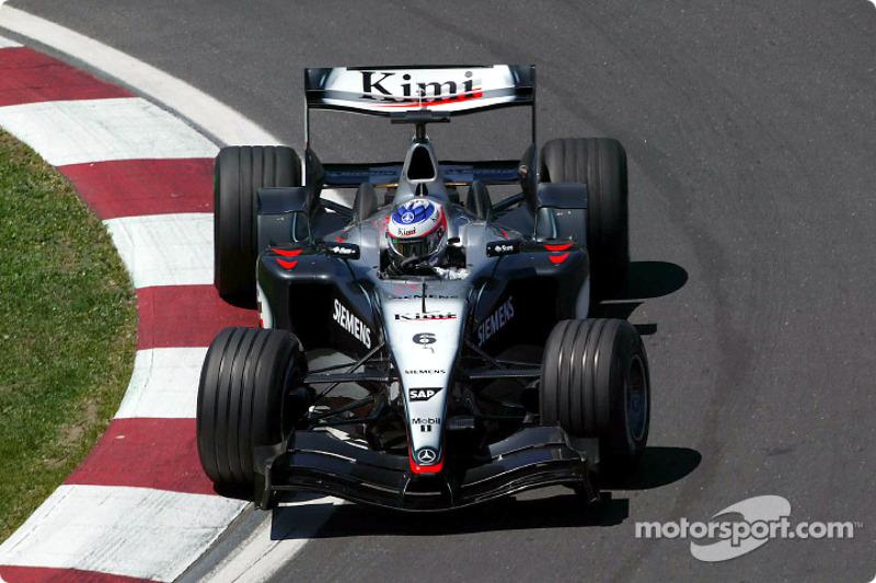 McLaren MP4-19, à moteur Mercedes (2004)