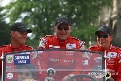 Jens Reno Moller, John Nielsen and Casper Elgaard