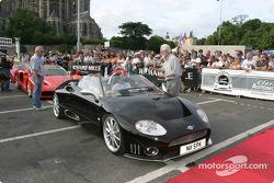 Exotic cars parade: Spyker