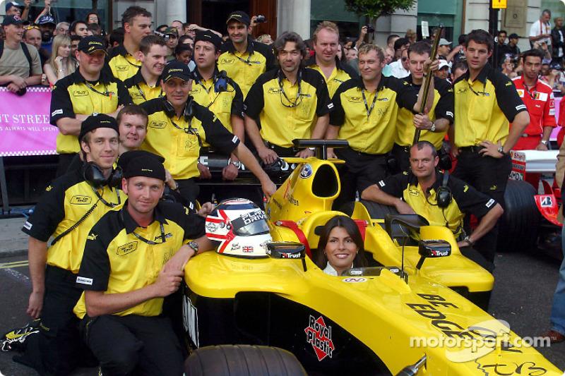 Jordan F1 takım elemanları