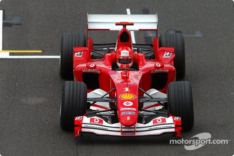 Ganador del Gran Premio de Gran Bretaña de F1 2004: Michael Schumacher (Ferrari F2004)