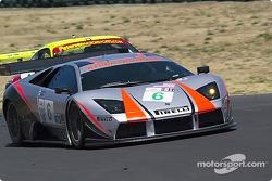 #6 Krohn-Barbour Racing Lamborghini Murcielago R-GT: Tracy Krohn, Dave McEntee