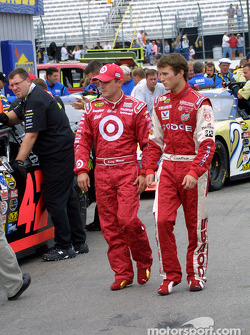 Casey Mears and Kasey Kahne