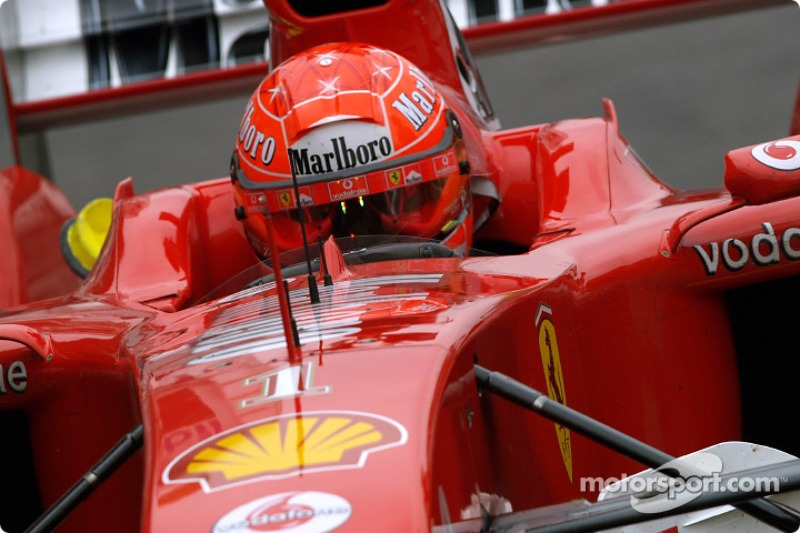 2004 German GP, Ferrari F2004
