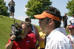 Brickyard 400 driver golf outing: Elliott Sadler