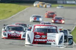 #01 CGR Grand Am Lexus Riley: Scott Pruett, Max Papis leads the field