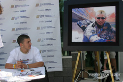 Mark Martin portrait presentation