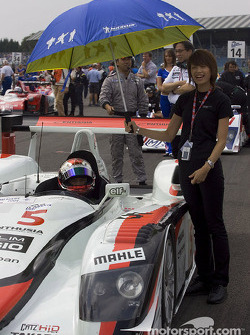 Rinaldo Capello on the starting grid