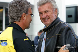 Eddie Jordan and Willi Webber