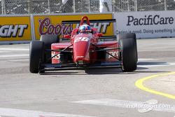 Race winner Chad Blount