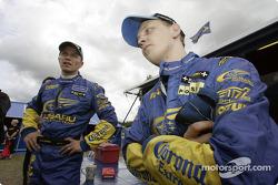 Mikko Hirvonen and Petter Solberg