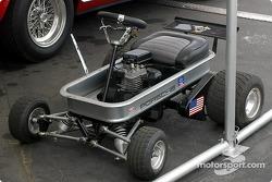 Open-wheel single-seater