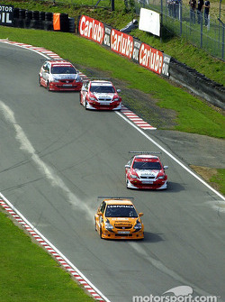 Matt Neal leads