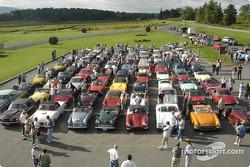 Glenora Rally start