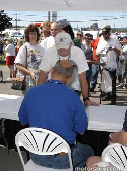 Bobby Rahal autograph session
