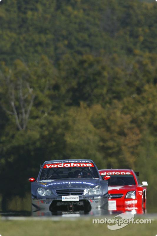 Christijan Albers, Team HWA, AMG-Mercedes C-Klasse 2004; Heinz-Harald Frentzen, OPC Team Holzer, Ope