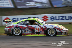 #31 White Lightning Racing Porsche 911 GT3 RSR: Craig Stanton , David Murry , Michael Petersen