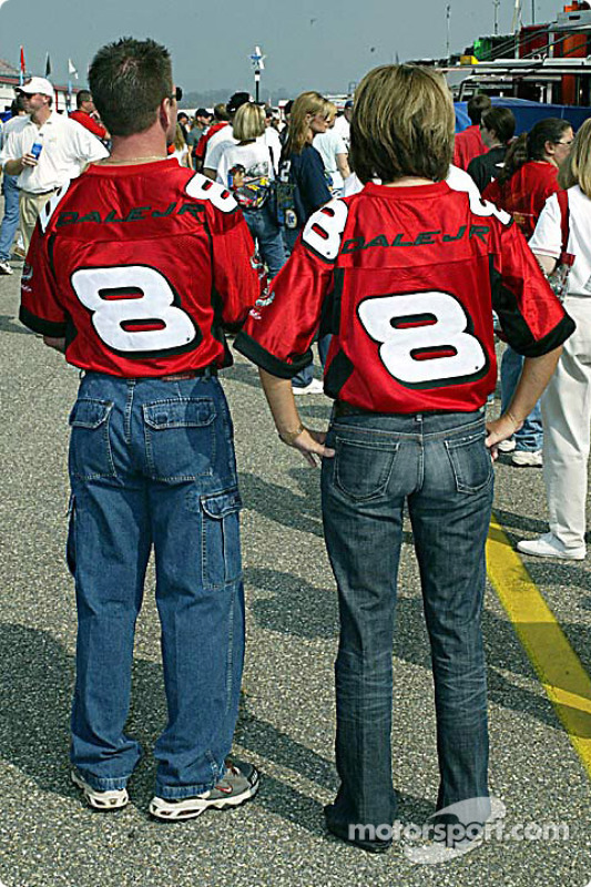 Fans de Dale Earnhardt Jr.