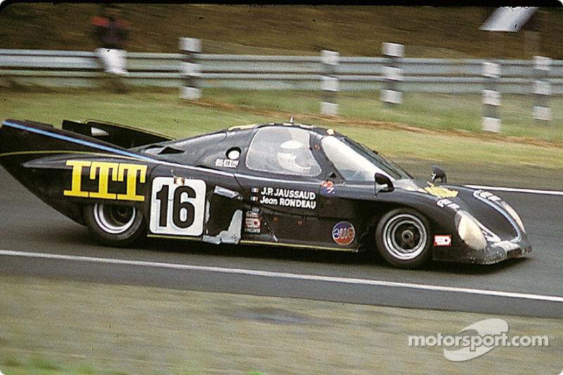 La Rondeau M379B Ford n°16 Jean Rondeau : Jean Rondeau, Jean-Pierre Jaussaud