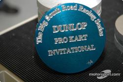 Trophy for karts in progress