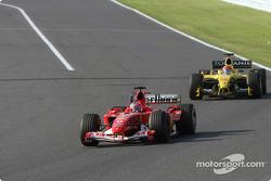 Rubens Barrichello and Timo Glock