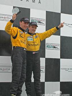 DP podium: Wayne Taylor and Max Angelelli