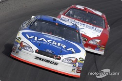 Mark Martin and Ricky Rudd