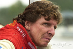 Didier Theys watches late race action