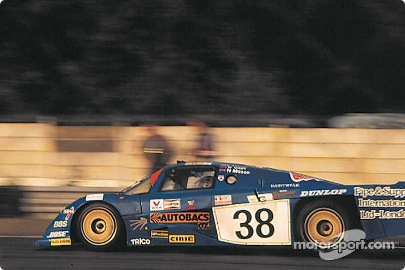 1983 Le Mans 24 Hours: #38 Dome Racing Dome RC82/83 Ford: Chris Craft, Eliseo Salazar, Nick Mason