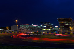 Night lights at Ford Chicane