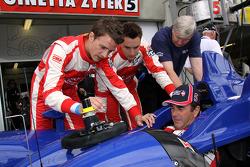 Nigel Mansell, Greg Mansell and Leo Mansell