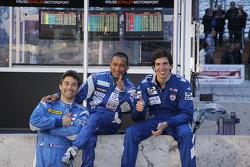 Jean De Pourtales, Hideki Noda and Johnathan Kennard