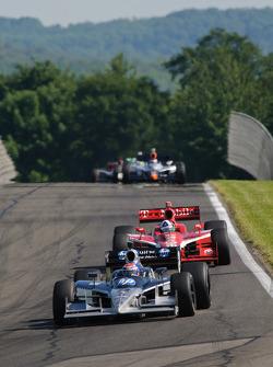 Raphael Matos, de Ferran Luczo Dragon Racing, Dario Franchitti, Target Chip Ganassi Racing