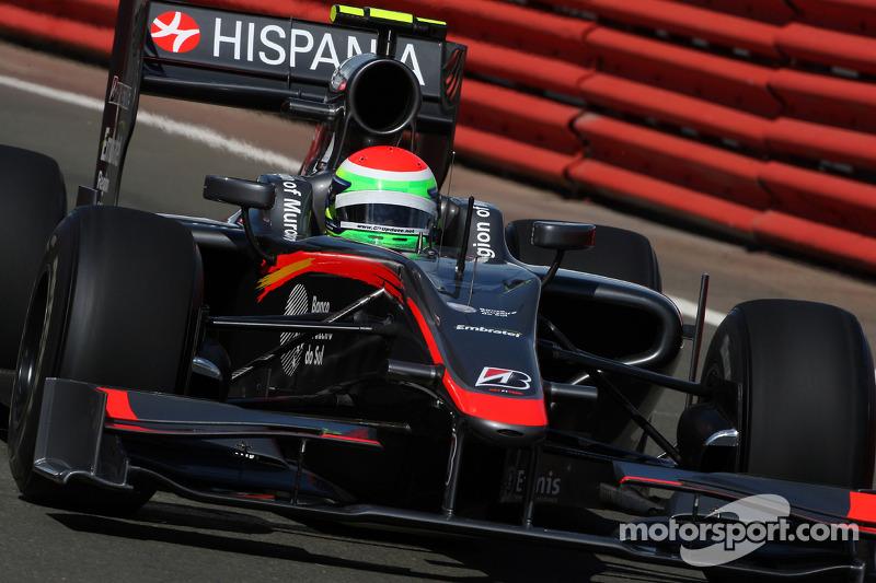Sakon Yamamoto Hispania Racing F1 Team