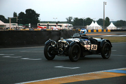 #24 Riley Brooklands 1928: Thierry Chanoine, Di Piezzole