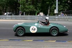 #18 Jaguar XK120 1950: Hans-Martin Schneeberger, Kourosh Schneeberger