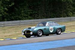 #62 Aston Martin DB 4 GT 1960: Peter Thornton, David Garrett, Adrian Wilmott