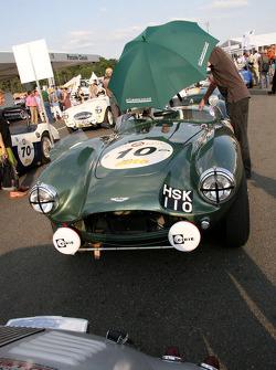 #10 Aston Martin DB3 S 1954: Wolfgang Friedrichs, David Clark