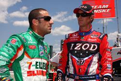 Tony Kanaan, Andretti Autosport en Ryan Hunter-Reay, Andretti Autosport