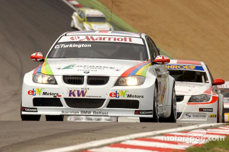Colin Turkington rijdt voor Kristian Poulsen